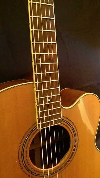 tacoma jm16c jumbo cutaway acoustic electric 2002 all solid reverb. Black Bedroom Furniture Sets. Home Design Ideas
