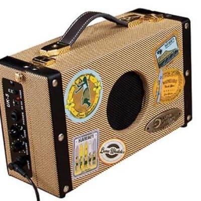 Luna Ukulele Suitcase Amp with 9V Battery and AC Adapter, UKE SA 5 for sale