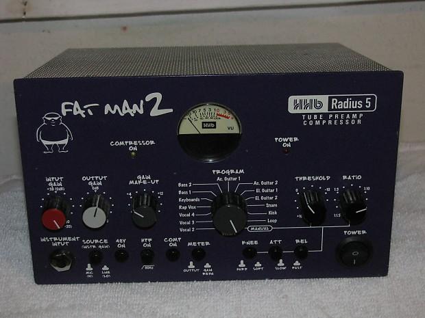 HHB Radius 5 Fat Man 2 Dark Purple