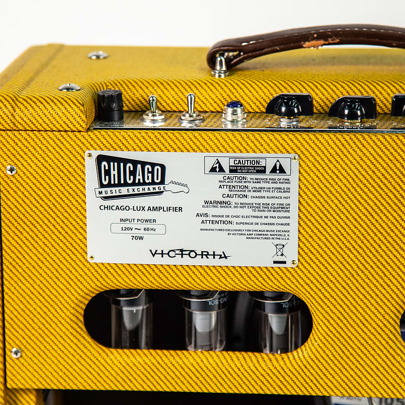 Victoria Chicago Lux Amplifier Owned By Ray LaMontagne