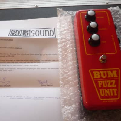 Sola Sound Sola Sound Bum Fuzz Unit 2018