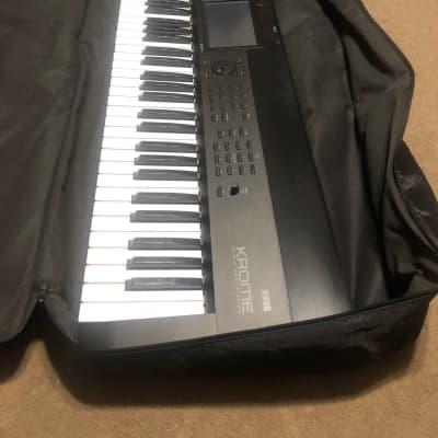 Rockville Double X Braced Keyboard Stand+Push Button Lock For Korg Krome 73