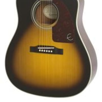 Epiphone AJ210CE Acoustic Electric Vintage Sunburst with Case