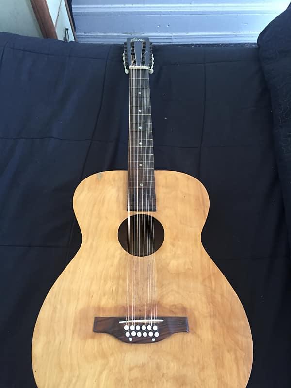 nice 1963 stella 12 string guitar by harmony set up for reverb. Black Bedroom Furniture Sets. Home Design Ideas