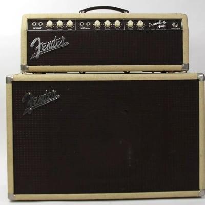 "Fender Tremolux 6G9 30-Watt 1x10"" Piggyback Guitar Amp 1960"