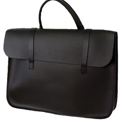 Montford Leather Music Case - Black for sale