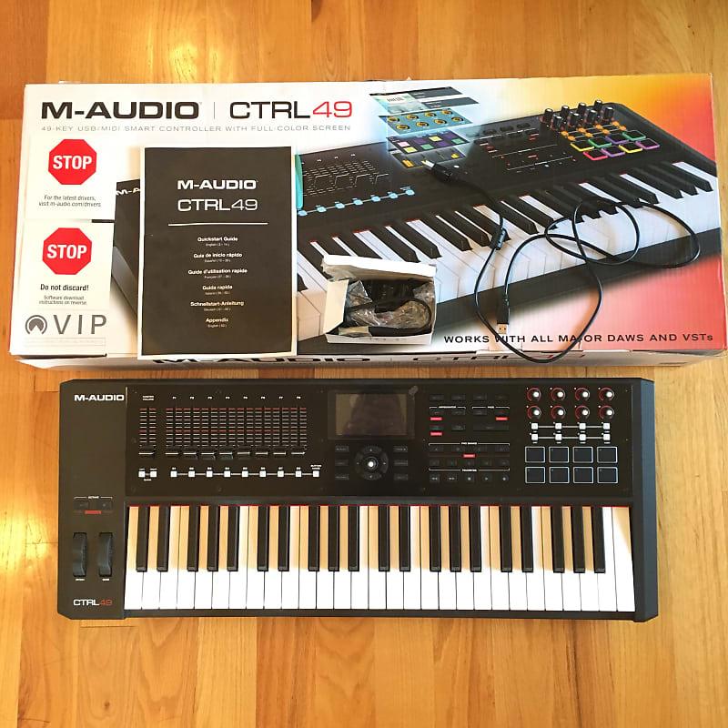 M-Audio CTRL49 MIDI Keyboard & DAW Controller w/ | Reverb