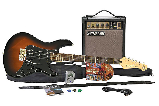 Yamaha Gigmaker Eg Ovs Electric Guitar Package Old Violin Reverb