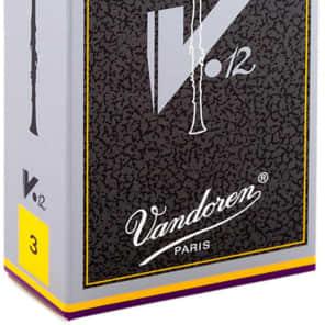 Vandoren CR613 V12 Series Eb Clarinet Reeds - Strength 3 (Box of 10)