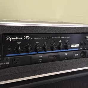 Lexicon Signature 284 All Tube Class A Stereo Recording Amplifier and Direct Source
