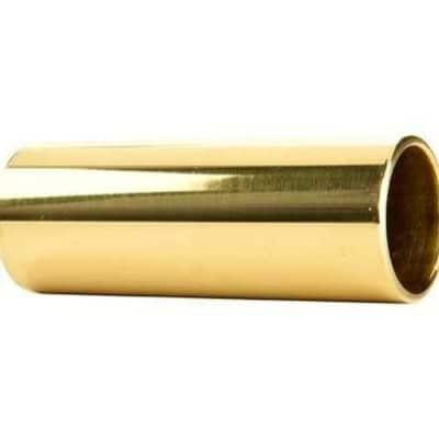 Dunlop 222 Brass Guitar Slide   Medium