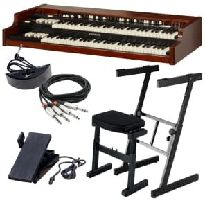 Hammond XK-5 Organ Dual Manual STAGE ESSENTIALS BUNDLE