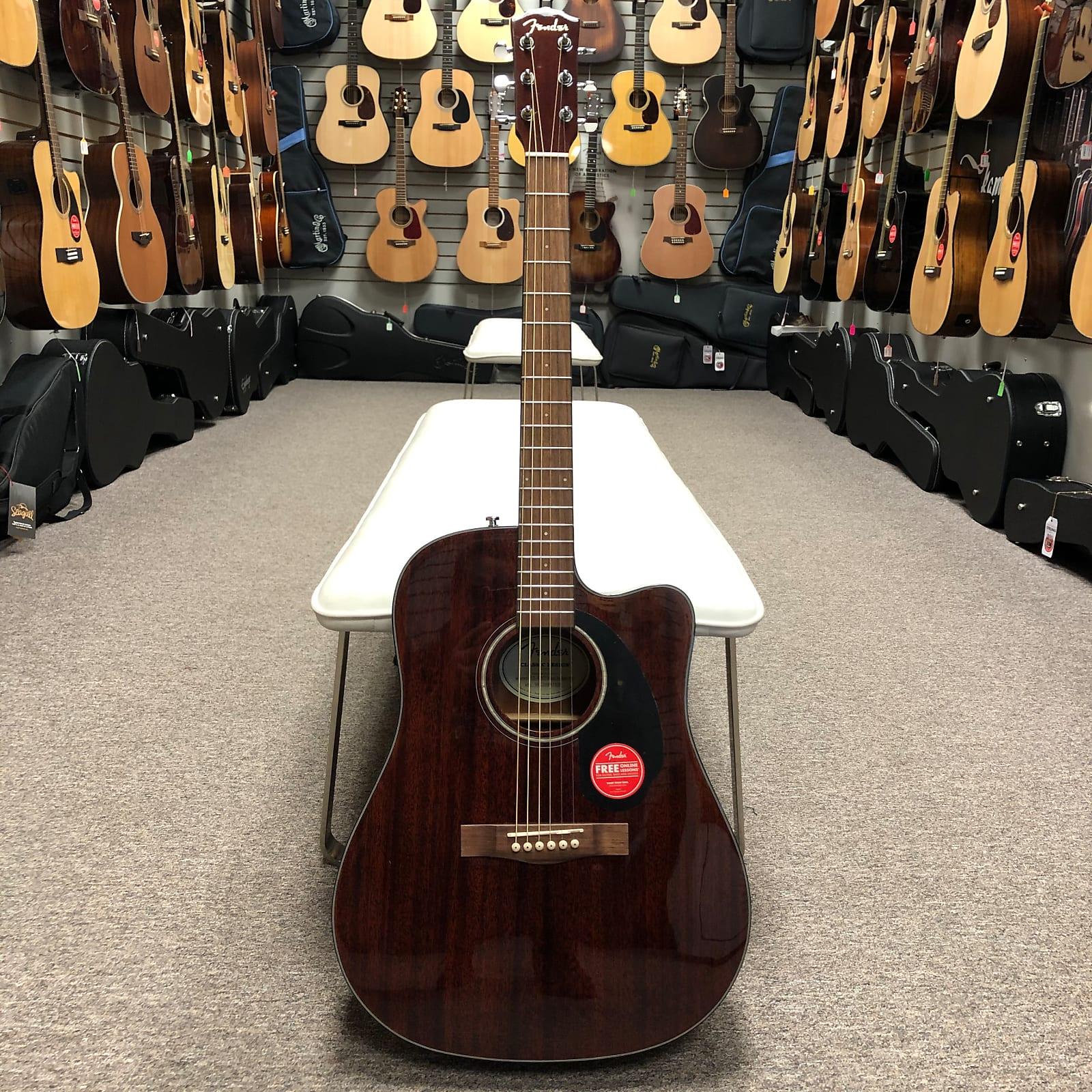 Fender CD-60SCE - Mahogany
