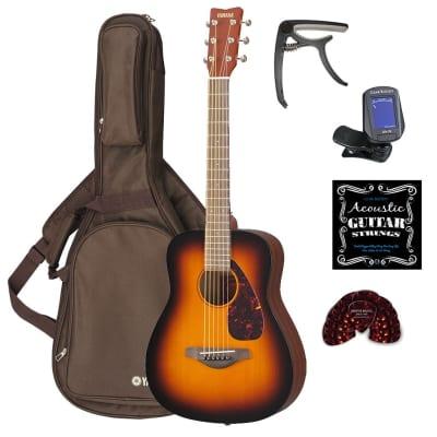 bea6e5acdc Yamaha JR2 3/4 Junior Acoustic Guitar Bundle - Tobacco Sunburst