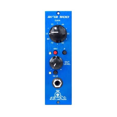 Black Lion Audio B173 500 Series Preamp