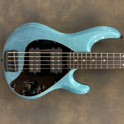 Ernie Ball Music Man Stingray 5HH 2019 Aqua Sparkle