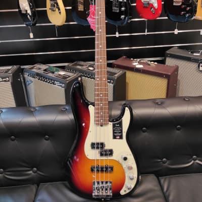 Fender American Ultra Precision Bass with Rosewood Fretboard 2019 - 2020 Ultraburst