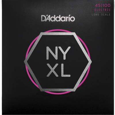 D'Addario NYXL45100 Bass Guitar Strings 45-100