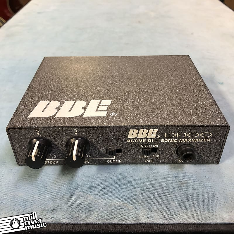 BBE DI-100 Active DI & Sonic Maximizer Direct Box