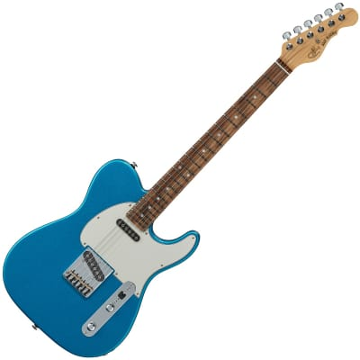 G&L ASAT Classic USA Fullerton Deluxe in Lake Placid Blue for sale