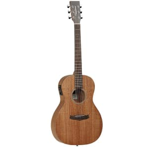 Tanglewood TW3-E Winterleaf Mahogany Parlor with Electronics Natural Satin