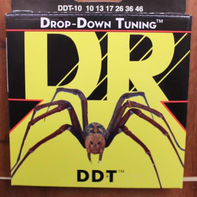 DR Strings Drop-Down Tuning DDT-10 10-46 Electric Guitar Strings