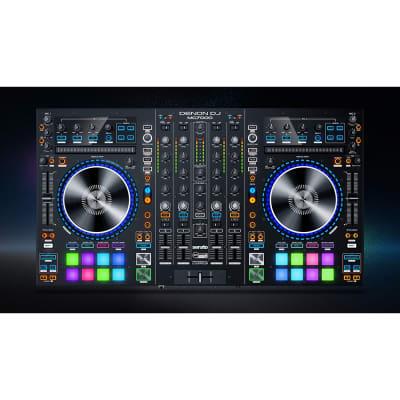 Denon MC7000 4-Ch Pro Serato DJ Controller Digital Mixer w/ Dual USB Interfaces