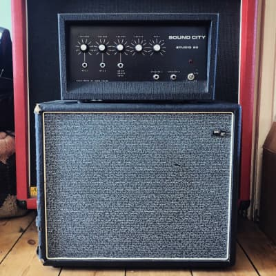Vintage Dallas Arbiter Sound City Studio 20 AC88  Valve / Tube  amp - late sixties for sale