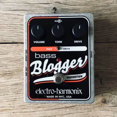 Electro-Harmonix Bass Blogger Analog Distortion/Overdrive
