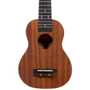 Beaver Creek BCUKEE-S Soprano Acoustic/Electric Mahogany Ukulele for sale