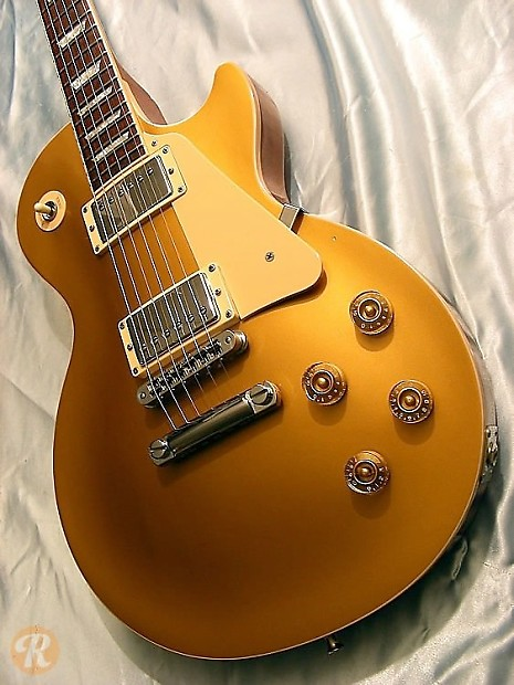 Gibson Les Paul Standard 2001 Goldtop Price Guide | Reverb