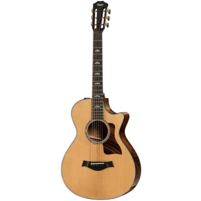 Taylor 612ce 12-Fret Grand Concert V-Class Acoustic Electric Guitar with Case