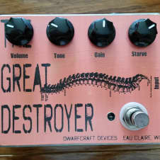 Dwarfcraft Devices The Great Destroyer Fuzz Guitar Pedal