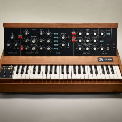 R.A. Moog Mini Moog synthesizer Model D extremely rare made in March 1971 (serviced)