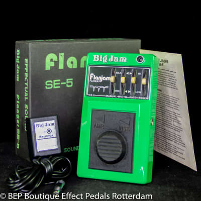 Multivox Big Jam SE-5 Flanjam Flanger late 70's s/n 02881 Japan for sale