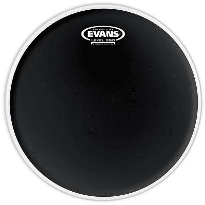 "Evans TT06RBG Resonant Black Drum Head - 6"""