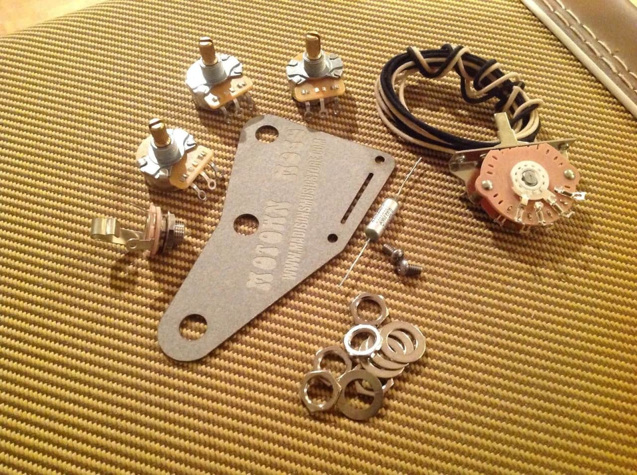 Mojo Wiring Harness Best Library Motown Stratocaster Upgrade Diy Kit