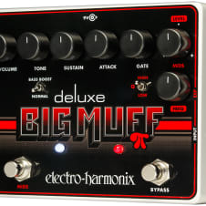 Electro Harmonix Deluxe Big Muff Pi Distortion Effect Pedal