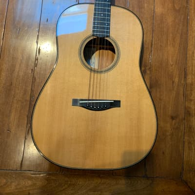 Hank Mauel Dreadnought 2003 Mahogany/Sitka for sale