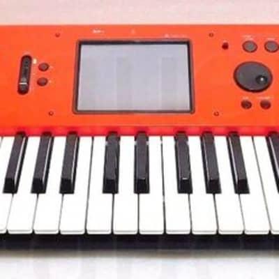 KORG M50 Red Synthesizer Workstation 61er Synth + 1.Hand + 1Jahr Garantie