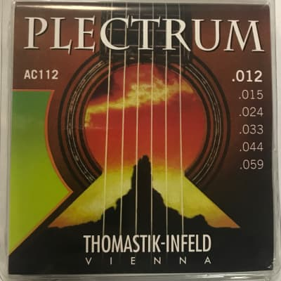 Thomastik Plectrum Hybrid Acoustic Guitar Strings, Med-Light, 12-59