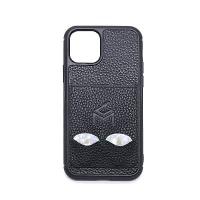 """""""The Pick Solution"""" iPhone 11 Pro Leather  Case With Guitar  Pick Storage Slots - Iphone 11 Pro"""
