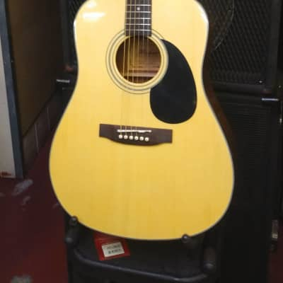 NEW! Hohner HW700 Made In Korea  Solid Spruce Top Dreadnought Acoustic Guitar - High Quality! for sale