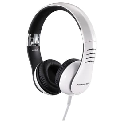Casio XW-H2 XW Series White Headphones