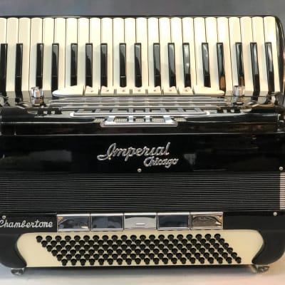 Imperial Chicago Chambertone Accordion 3 Reeds Single Tone Chamber