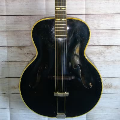 Harmony H1442  Roy Smeck  Artiste Archtop early 40's Black for sale