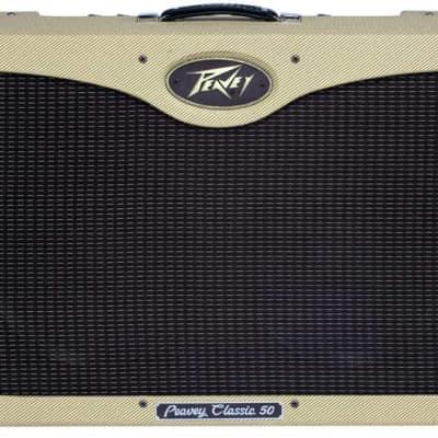 "Peavey CLASSIC-50-212-II Classic 50/212 II 50W, 2x12"" Tube Combo Amplifier"