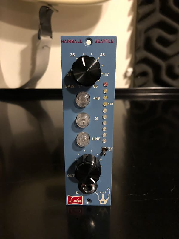 5843dc3e41aa4 Hairball Audio Lola with Hardy 990c+ Op Amps