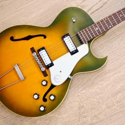 1961 Epiphone Sorrento E452TD Dot Neck Vintage Electric Guitar Royal Olive w/ohc for sale