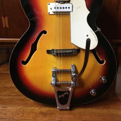 Vox Wildcat 1960's Sunburst OHSC